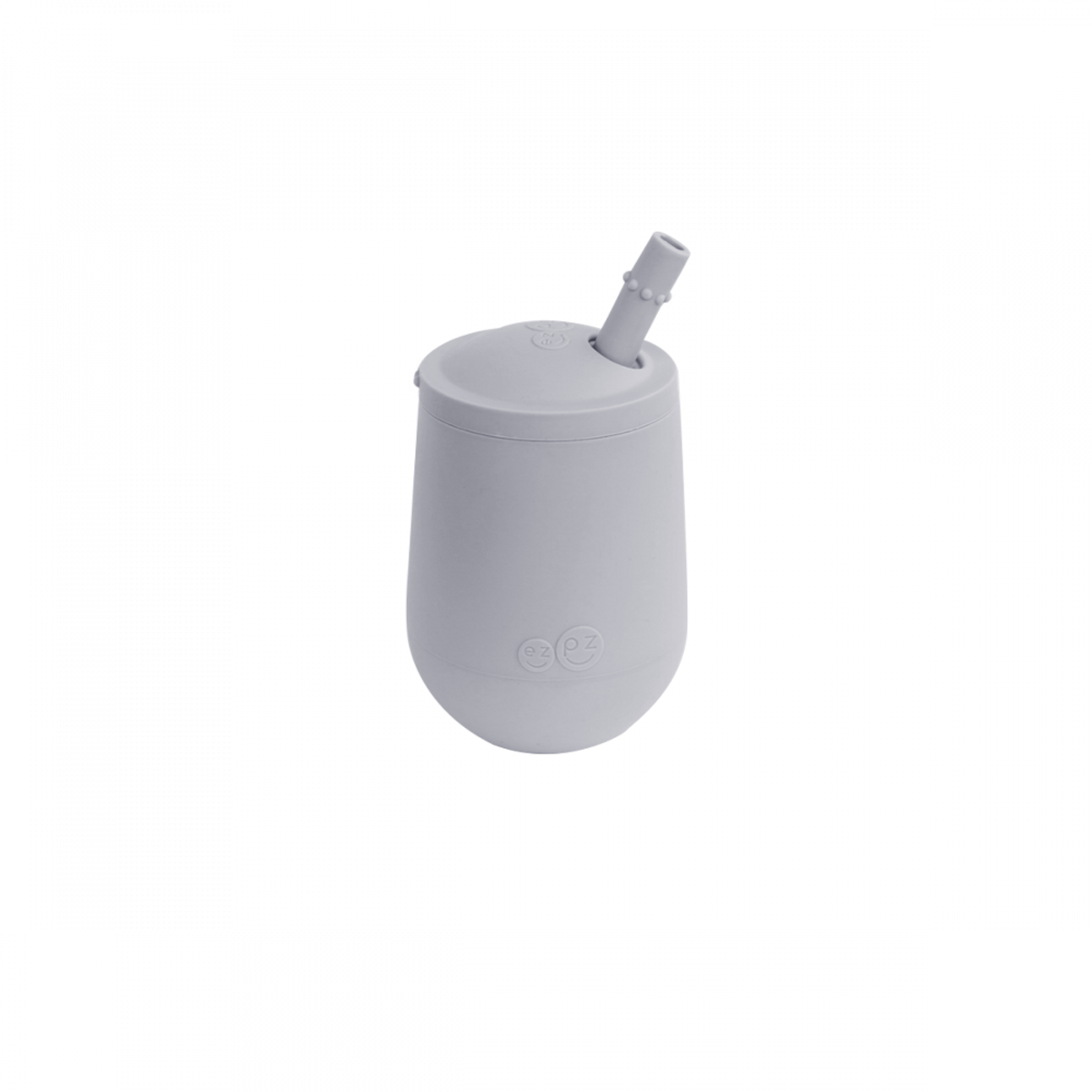 EZPZ Mini Cup + Straw Training System | Grey
