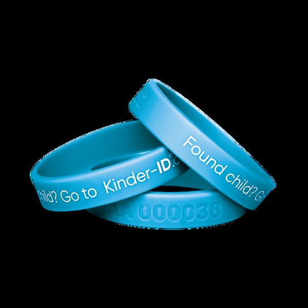 Bilde av KinderID Armbånd | Blå