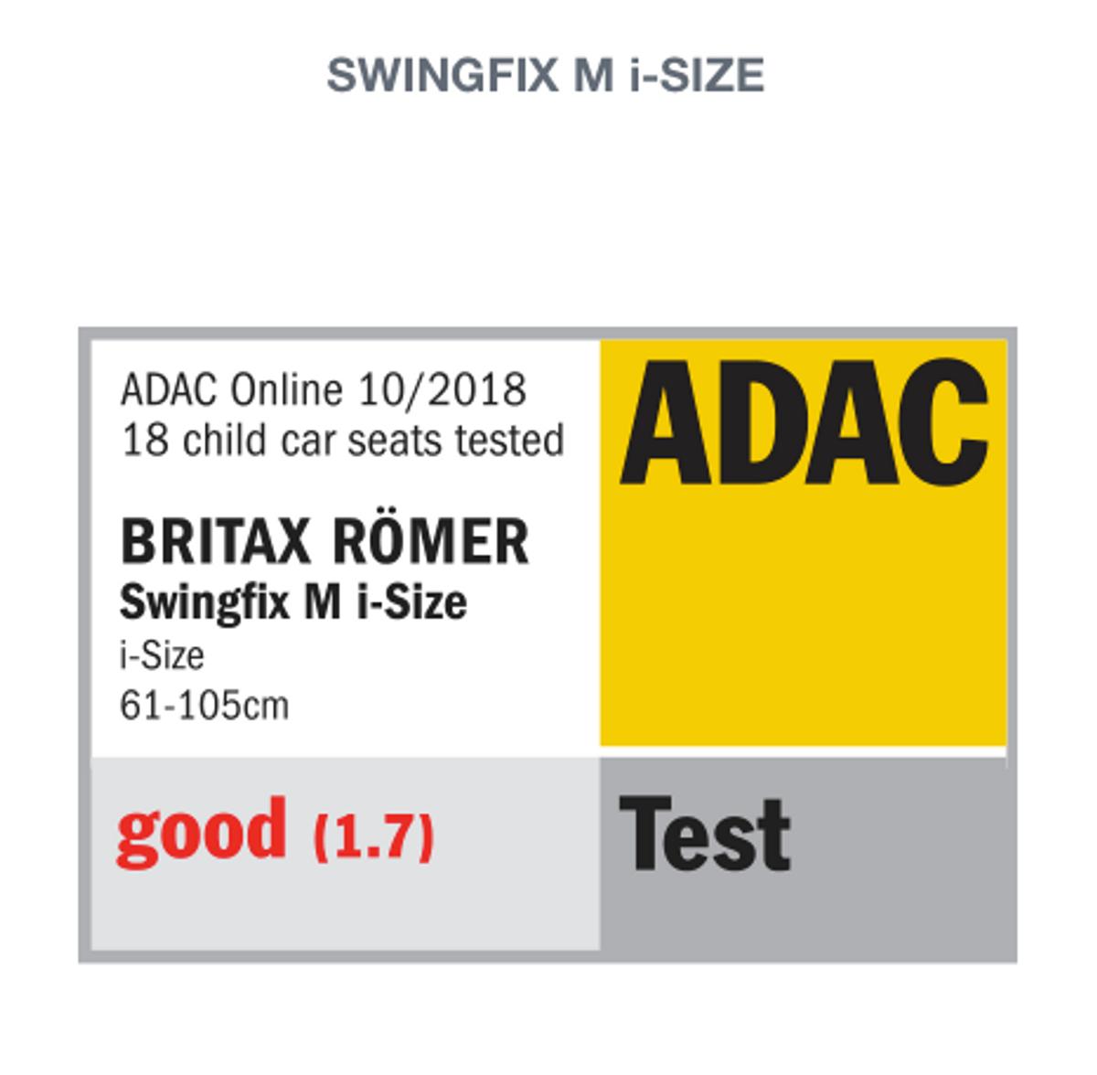 Britax SWINGFIX M i-SIZE   Storm Grey