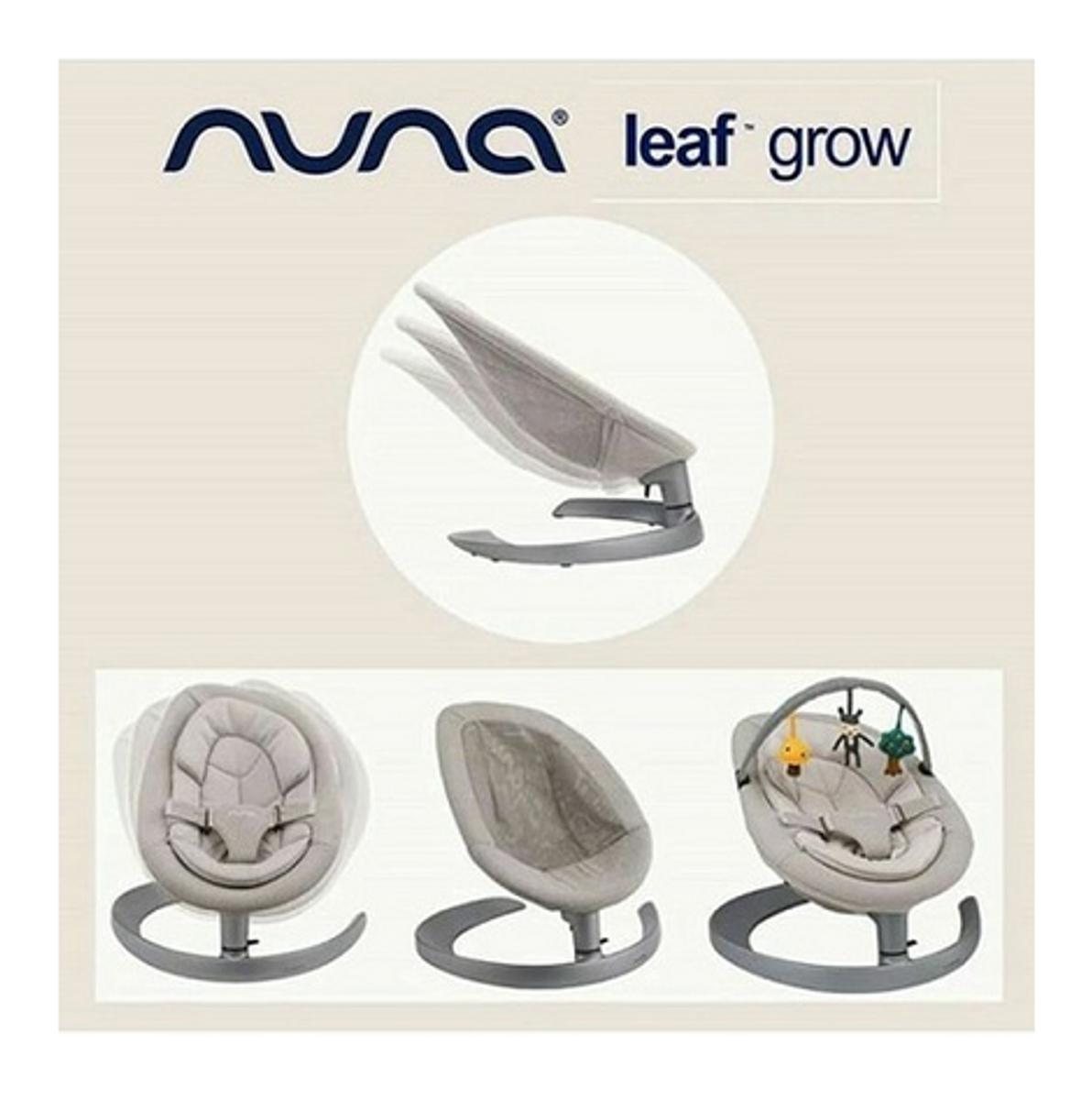 Nuna   Leaf Grow Vippestol   Champagne