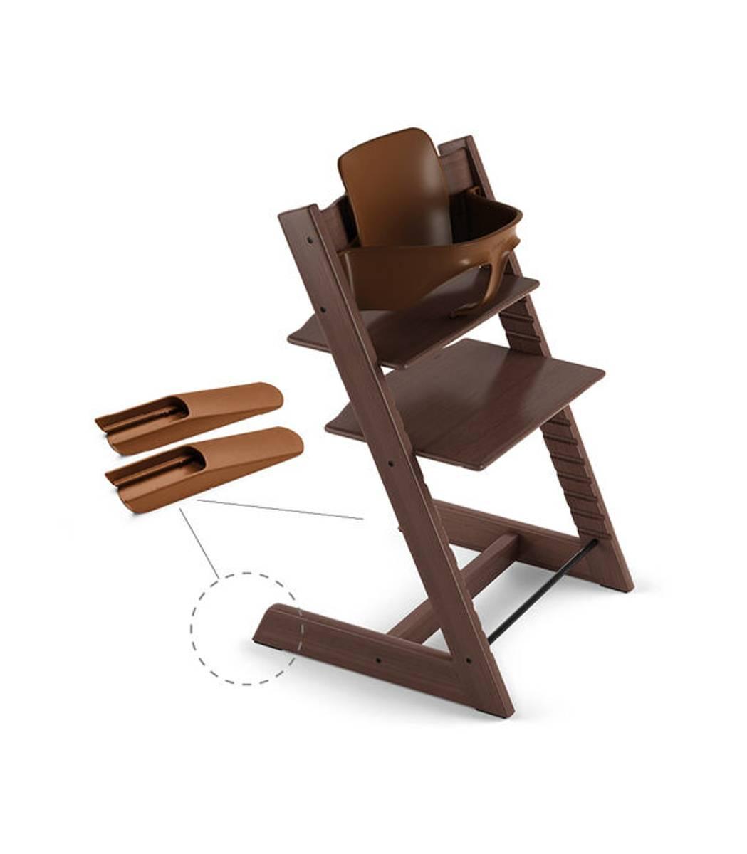 Stokke TRIPP TRAPP Baby Set | Walnut Brown