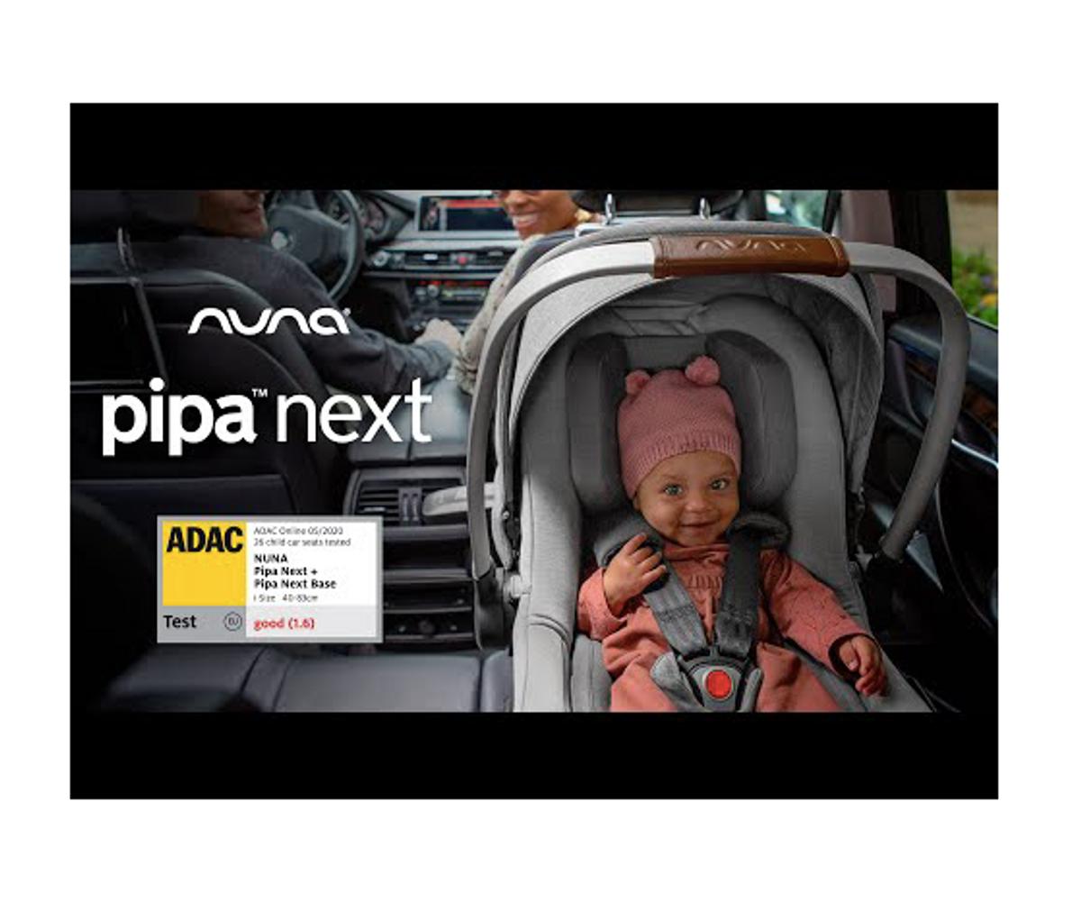 Nuna | Pipa Next + Base | Caviar