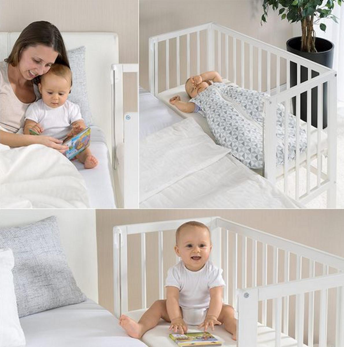 Fillikid | Bedside Crib Cocon Plus | Grå