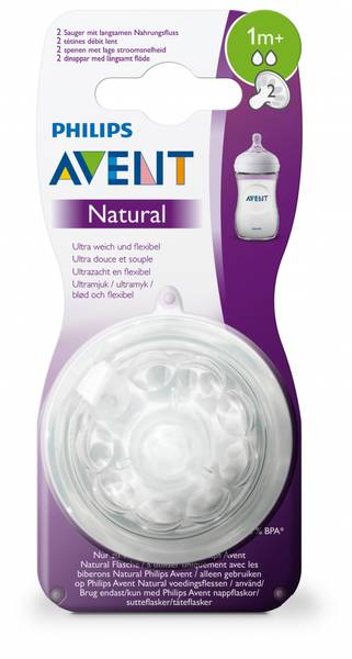 Bilde av Philips Avent | Natural Flaskesmokk | 1m+
