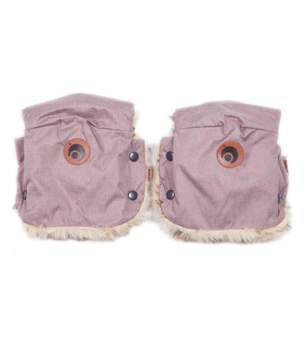 Easygrow Hand muffs Pink Melange.