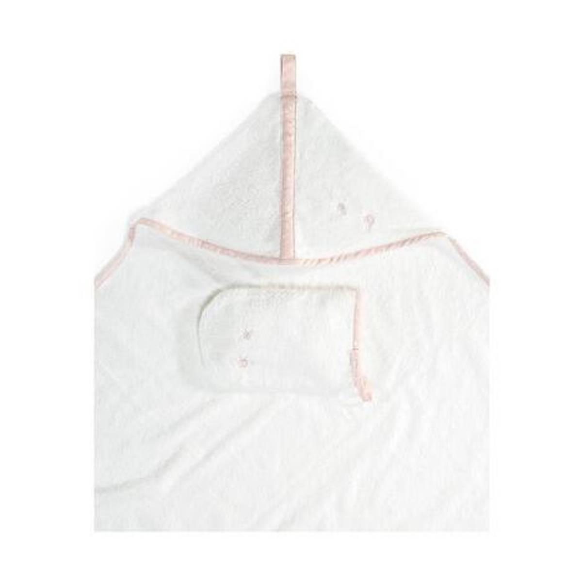 Stokke NURS Badehåndkle | Hette & Vaskeklut | Pink Bee