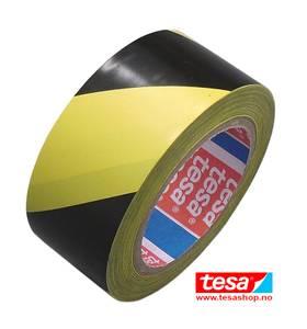 Bilde av Tesa 6076 Varseltape gul/sort 50