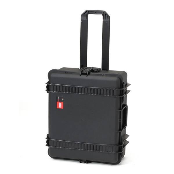 HPRC Vinkoffert m/hjul til 8 Vinflasker Sort 620x520x275 mm