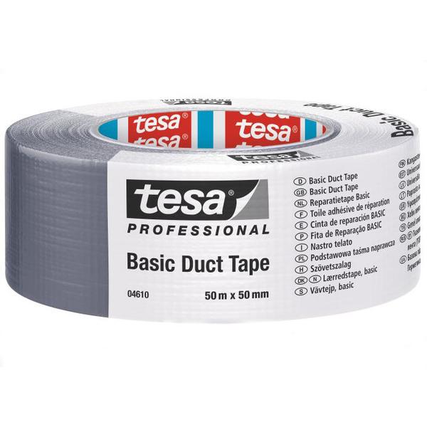Tesa 4610 Duct Tape Sølv 50 mm