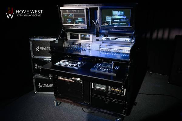 Media-Rack til streaming