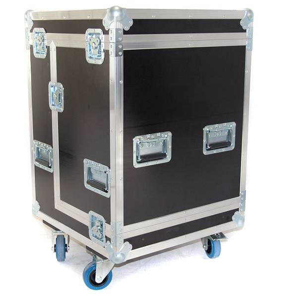 L`Acoustics 4 stk KIVA - Flightcase