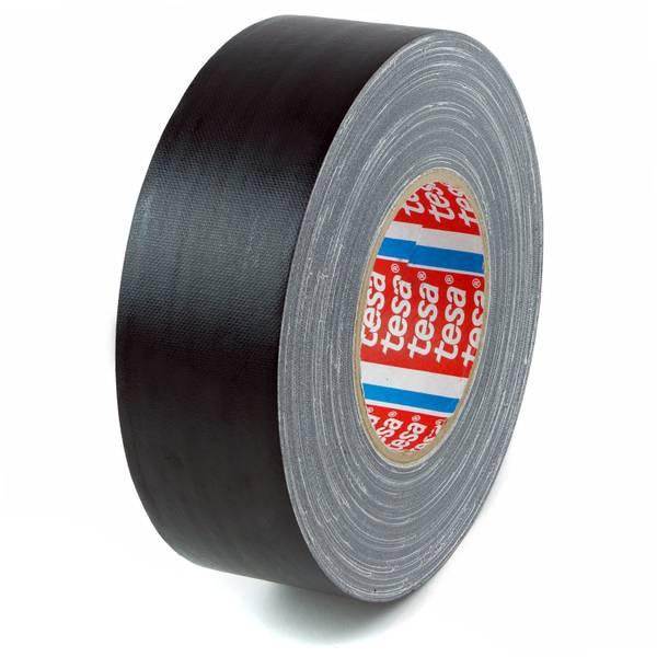 Tesa 53949 Gaffa Tape Matt Sort 50 mm