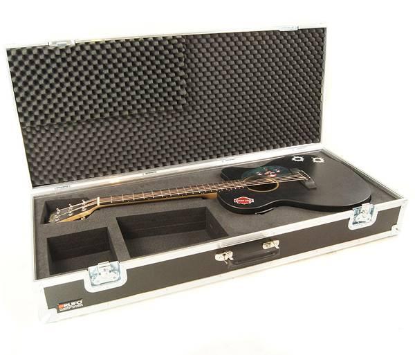 Martin 000CXE Black - Flightcase