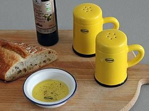 Bilde av Salt-og pepper sett gult