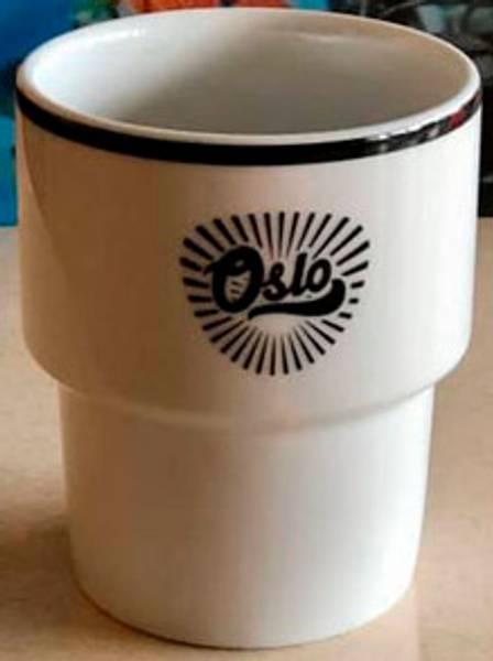 Oslo koppen fra Mamsam sort