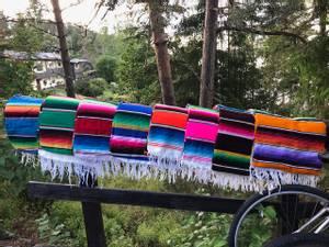 Bilde av Sarape ekte Meksikansk pledd