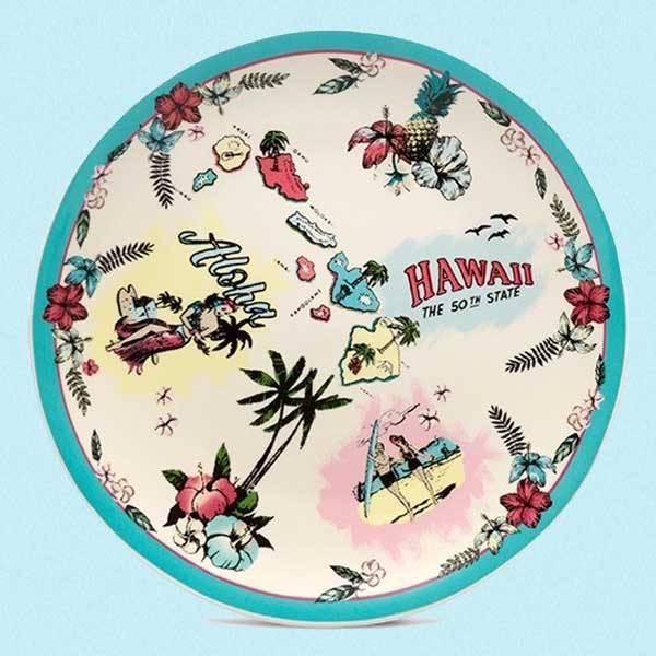 Keramikkfat Hawaii