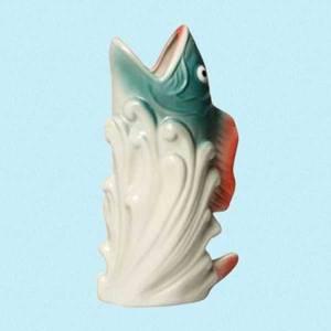 Bilde av Fisk keramikkvase