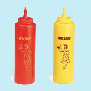 Bilde av Ketchup & Sennep flasker med