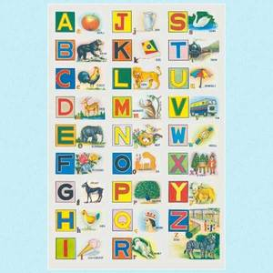 Bilde av Poster alfabet