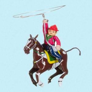 Bilde av Cowboy med lasso i blikk