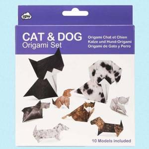 Bilde av Origami katt og hund