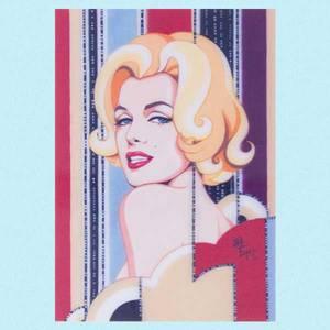 Bilde av 3D kort Marilyn
