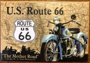 Bilde av Magnet U.S. Route 66