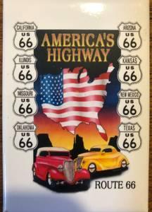 Bilde av Magnet Route 66