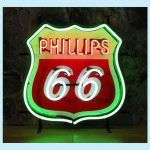 Bilde av Phillips 66 neonskilt