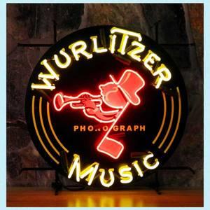 Bilde av Wurlitzer neonskilt