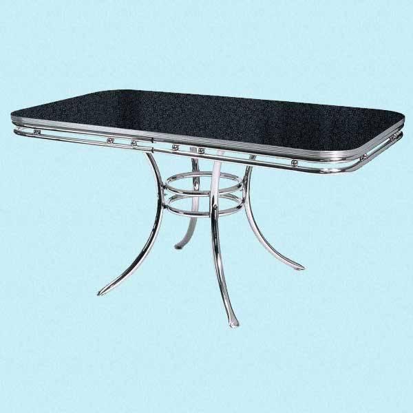 Spisebord med kant