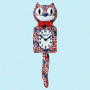 Bilde av Kit-Cat klokke Patriot