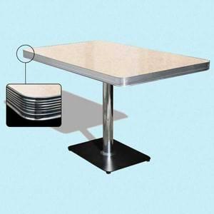 Bilde av Dinerbooth bord 120 cm