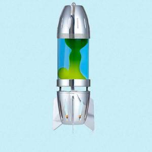 Bilde av Telys-drevet lavalampe