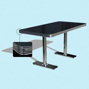 Bilde av Dinerbooth bord 150 cm