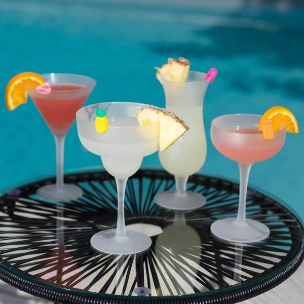 Sett med 4 Cocktail glass