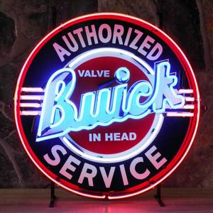 Bilde av Buick Service neonskilt