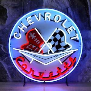 Bilde av Chevrolet Corvette neonskilt