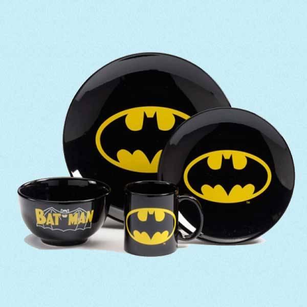 Batman middagsett 4 deler