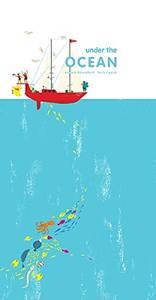 Bilde av Under the ocean Pop up bok