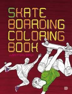 Bilde av Skateboarding Coloring Book
