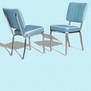 Bilde av Diner stol ensfarget (CO 25)