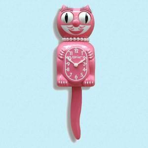 Bilde av Kit-Cat klokke Strawberry Ice