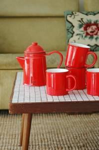 Bilde av Kaffe-og tekanne i keramikk