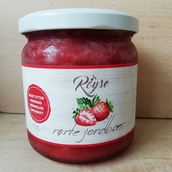 Bilde av Rørte Jordbær 400 g