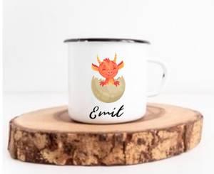 Bilde av Drage i egg kopp