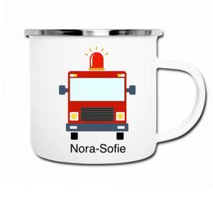 Bilde av Brannbil med sirene kopp