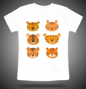 Bilde av Tiger moods t-shirt