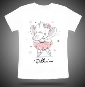 Bilde av Ballerina Elefant t-shirt